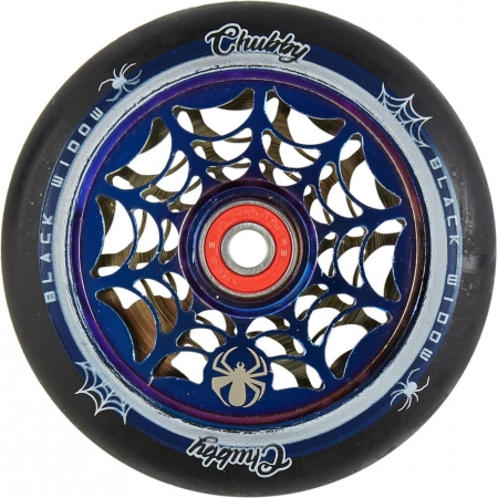 Chubby Black Widow - 110mm / Mirror Blue