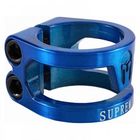 Supremacy Spartan / Double clamp / Trans Blue