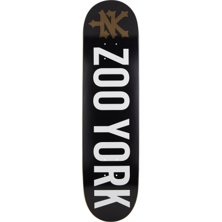 "Zoo York Logo / 8.1"" / Black"